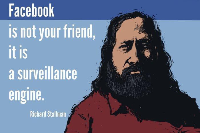Facebook-Stallman