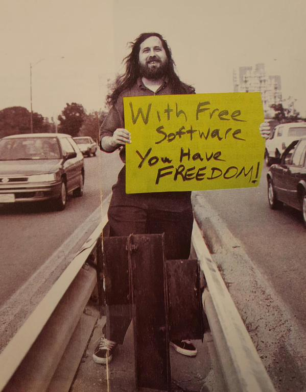 Stallman_carretera