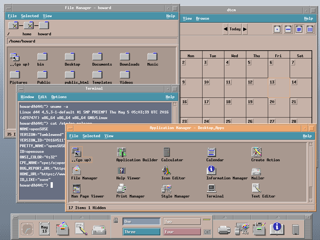 CDE_openSUSE