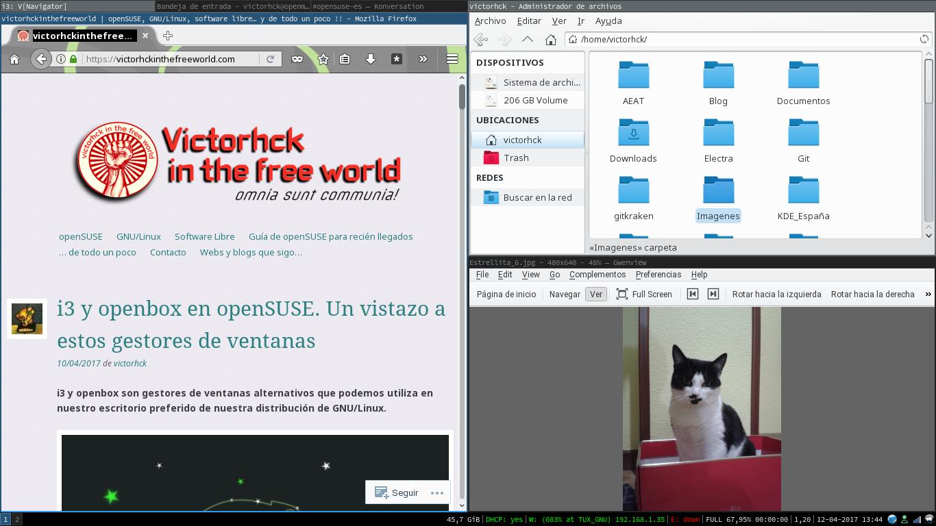 #i3wm en GNU/Linux para curiosos. Un repaso a este gestor de ventanas.
